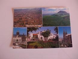 Postcard Postal France Puy De Dome Clermont Ferrand - Clermont Ferrand