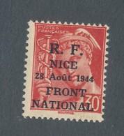 FRANCE - LIBERATION NICE N° 2M NEUF* AVEC CHARNIERE - COTE : 30€ - Liberation
