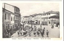 Venezia - Burano - Via Galuppi - Merletaie - Uscita DaLavoro V. 1938 (3467) - Venezia (Venedig)