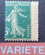 R1615/154 - 1907 - TYPE SEMEUSE - N°137 IIA NEUF* - VARIETE ➤➤➤ Piquage à Cheval - Variétés Et Curiosités