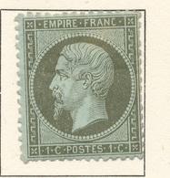 N°19 NEUF* - 1862 Napoléon III