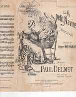 CAF CONC PAUL DELMET PARTITION LE PETIT NAVIRE BERCEUSE LULLABY HENRI BERNARD ILL BARBUT - Música & Instrumentos