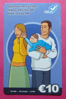 Kosovo Prepaid Phonecard, 10 Euro. Operator VALA, *Family Mobiling*, Serial # 6...... - Kosovo