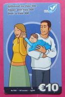 Kosovo Prepaid Phonecard, 10 Euro. Operator VALA, *Family Mobiling*, Serial # 5...... - Kosovo