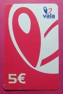 Kosovo Prepaid Phonecard, 5 Euro. Operator VALA *Butterfly*, Serial # 8...... - Kosovo
