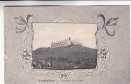 1900'S RARE CPA URUGUAY- MONTEVIDEO, FORTALEZA DEL CERRO. C.GALLI  EDIT - BLEUP - Uruguay
