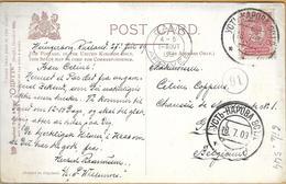 6ik-544: Fire At Sea: Yctb - HAPOBA....> Gand: 1909 - 1857-1916 Empire