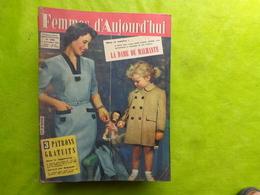 Femmes D'aujoud'hui N° 596 Sans Supplement - Mode