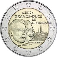 Luxembourg 2012 Les Grand Ducs  UNC - Luxemburg