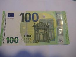 100 Euro-Schein RB. Draghi Unc. - EURO