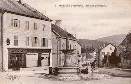 (Doubs)   CPA  Morteau  Rue De L'Helvetie  (Bon Etat) - France