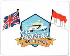 ROYAUME-UNI -- MONACO -- Tapis De Souris Mopeds 2 Monte Carlo - Deportes