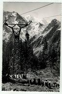 Suisse // Schweiz // Valais // La Forclaz, Le Mont-Blanc Vu Du Télésiège - VS Valais