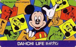 Télécarte Japon / 110-170340 - DISNEY - Dai Ichi Life - Japan Phonecard Versicherung Insurance Assu Telefonkarte - Disney