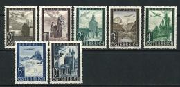 Österreich Mi 822 Bis 828 Komplett Postfrisch - 1945-.... 2. Republik