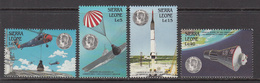 1988 Sierra Leone JFK Kennedy Space Helicopter Aircraft Carrier Complete Set Of 4  MNH - Sierra Leone (1961-...)