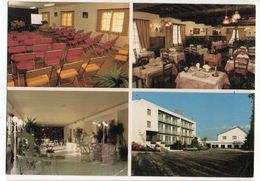 DOMERAT--HOTEL-RESTAURANT *** Montluçon -NOVELTA-  Carte Publicitaire  De L'hotel - Frankrijk