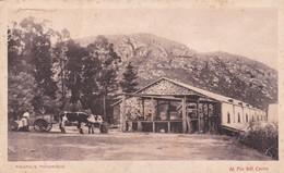 1900's RARISIME CPA URUGUAY- PIRIAPOLIS. AL PIE DEL CERRO. TALLER PEUSER. VINTAGE PANORAMA D'EPOQUE - BLEUP - Uruguay