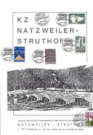KZ  NATZWEILER-STRUTHOF  Brochure Dim. 200x290mm  2 Scans - Luxembourg