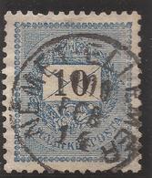 HUNGARY / SERBIA. NEMET ELLEMERE POSTMARK. 10kr USED - Hungary