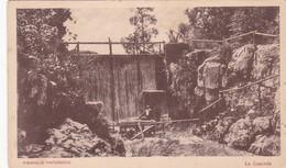 1900's RARISIME CPA URUGUAY- PIRIAPOLIS PINTORESCO. LA CASCADA. TALLER PEUSER - BLEUP - Uruguay