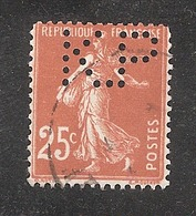 Perforé/perfin/lochung France No 235 K.P Kodak Pathé (18) - Perfins