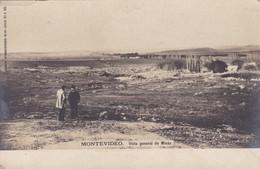 1900's RARISIME CPA URUGUAY- MONTEVIDEO. VISTA GENERAL DE MINAS. COMINI HNOS - BLEUP - Uruguay