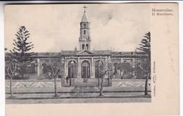 1900's RARISIME CPA URUGUAY- MONTEVIDEO. EL MANICOMIO. ADROHER HNOS EDIT - BLEUP - Uruguay