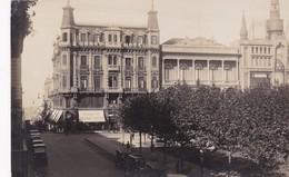 1900's RARISIME CPA URUGUAY- MONTEVIDEO. PLAZA CONSTITUCION. OFICINA MUNICIPAL DE PROPAGANDA - BLEUP - Uruguay
