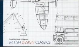 GREAT BRITAIN 2009 British Design Classics Prestige Booklet - Carné