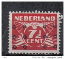 D - [TA056-13]TB//-PAYS BAS - YVERT N° 371 @OBL-USED@ Belle Oblitération Spéciale Formée De Ronds - 1891-1948 (Wilhelmine)