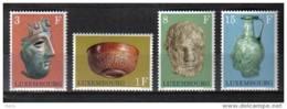 D - [TA079-10]TB//-LUXEMBOURG - N° 791/794 @ XX - MNH @ - SUPERBE - Archéologie