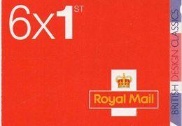 GREAT BRITAIN 2009 British Design Classics: Mini Booklet PM17 - Booklets