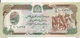 AFGHANISTAN 500 AFGHANIS ND1979-91 UNC P 60 - Afghanistan