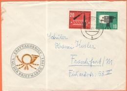 GERMANIA - GERMANY - Deutschland - ALLEMAGNE - DDR - 1961 - Tag Der Briefmarke - On FDC Cover - Viaggiata Da Dresden Per - FDC: Covers