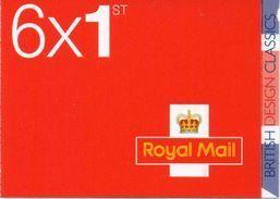 GREAT BRITAIN 2009 British Design Classics: Concorde Booklet PM19 - Booklets