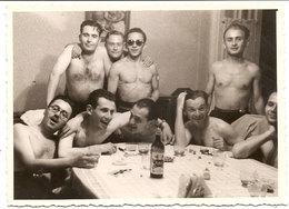 Photo Originale ,garçons Torse Nu , Amis Gay , Dim. 11.5X 8.5 Cm . - Personas Anónimos