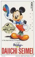 Télécarte Japon / 110-53536 - DISNEY-  Mickey Mouse / DAIICHI Japan Phonecard Telefonkarte - Disney