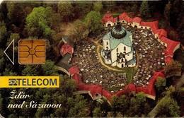 REPUBLICA CHECA. Town - Zdar Nad Sazavou. C100B, 24/06.95. (032). - Czech Republic