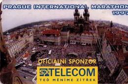 REPUBLICA CHECA. Prague Marathon. C191A, 18/04.97. (044). - Czech Republic