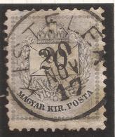 HUNGARY. KISTELEK POSTMARK. 20kr USED - Hungary