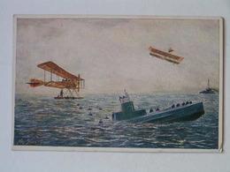 K.U.K. Kriegsmarine  SMS 1145 Rotes Kreuz Nr 624 UBoot Foucault Submarine 1924 - Guerra