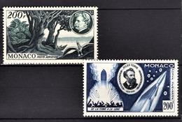 MONACO 1955 - N° 59 Et 60 - PA NEUFS** /9 - Poste Aérienne
