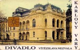 REPUBLICA CHECA. Theatre In Karlovy Vary. C229, 15/05.98. (017). - Czech Republic