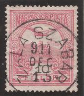 HUNGARY. ZALA SZABER POSTMARK. 10f USED - Hungary