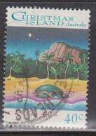 CHRISTMAS ISLAND Scott # 354 Used - Turtle On Beach - Christmas Island