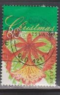 CHRISTMAS ISLAND Scott # 414 Used - Flame Tree - Christmas 1998 - Christmas Island