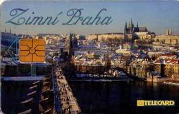 REPUBLICA CHECA. Prague At Winter. C263A, 73/12.98. (081). - Czech Republic