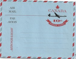 Canada Mint Aerogramme - 1953-.... Elizabeth II