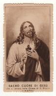 Santino Antico Sacro Cuore Di Gesù Da Napoli - Religione & Esoterismo